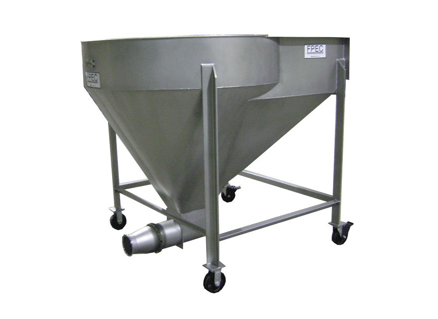 Conical Vacuum Feed Hopper